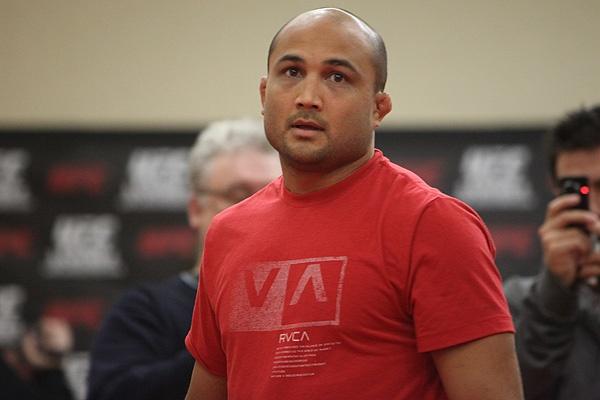 UFC 107 BJ Penn Training 1