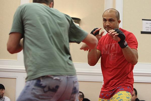 UFC 107 BJ Penn Training 2