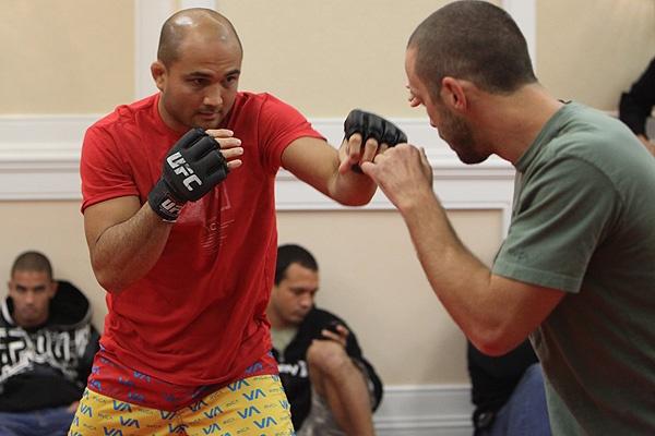 UFC 107 BJ Penn Training 3
