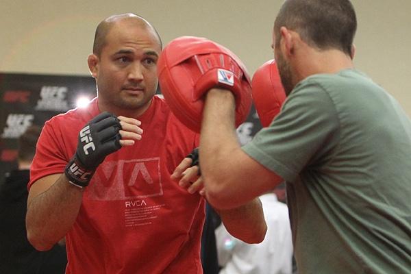 UFC 107 BJ Penn Training 4