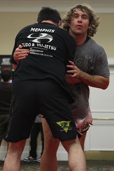 UFC 107 Belcher Training 4