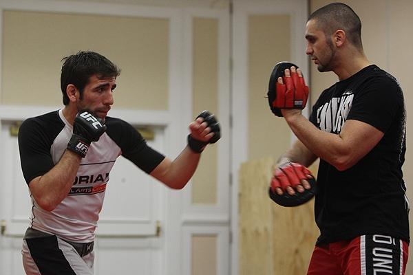 UFC 107 Florian Training 1