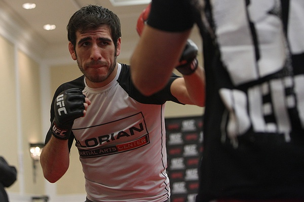 UFC 107 Florian Training 2