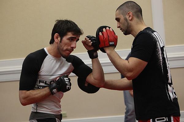 UFC 107 Florian Training 3