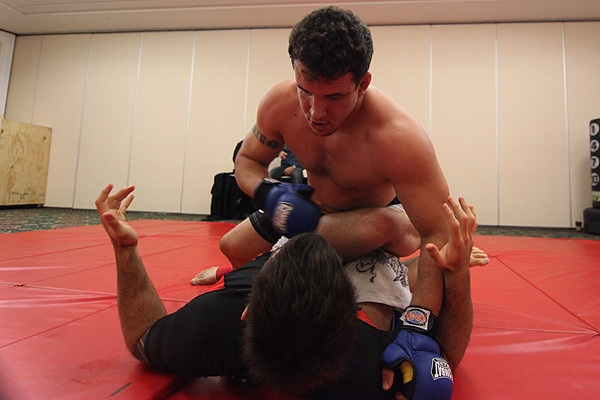 UFC 107 Frank Mir Training 6