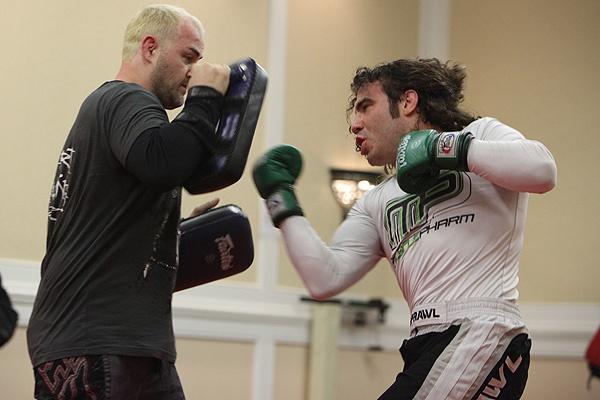 UFC 107 Guida Training 5