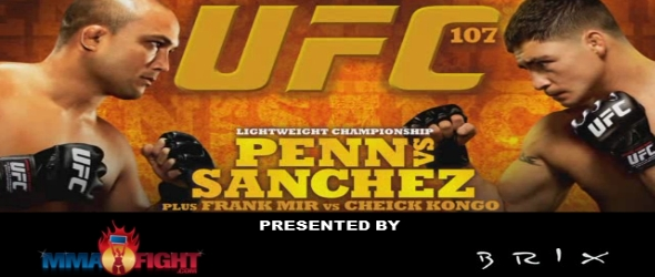 UFC 107 website