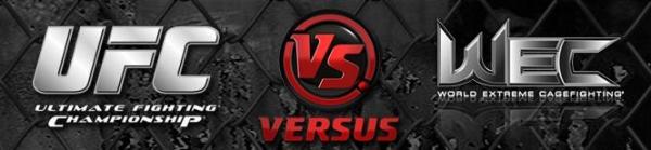 UFC versus wec