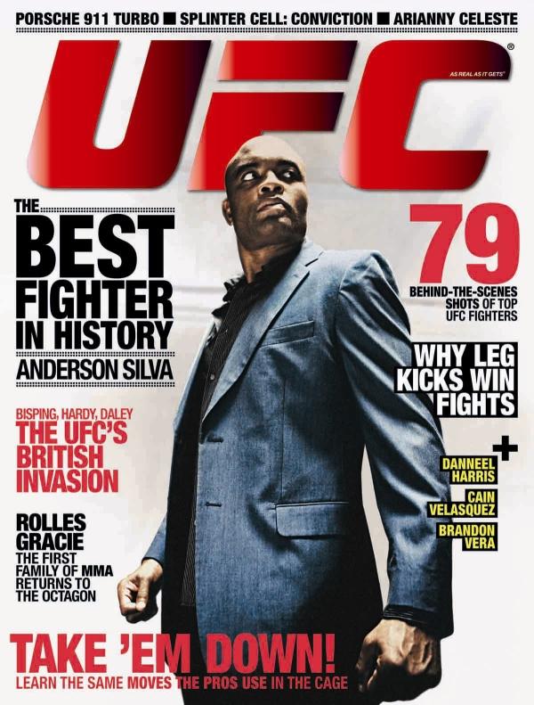 Anderson Silva UFC Magazine
