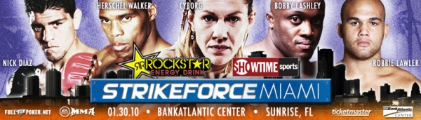 Strikeforce Miami main event