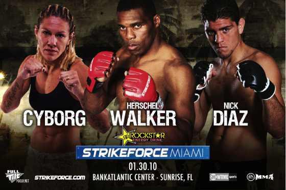 Strikeforce Miami poster