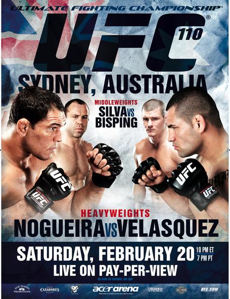 UFC 110 Poster