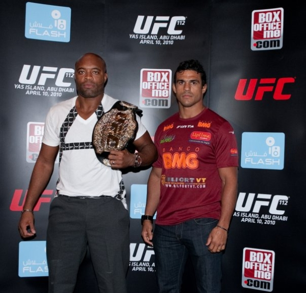 UFC 112 press conference pic 8