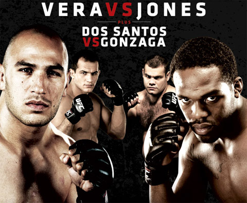 Vera vs. Jones UFC on Versus MMA