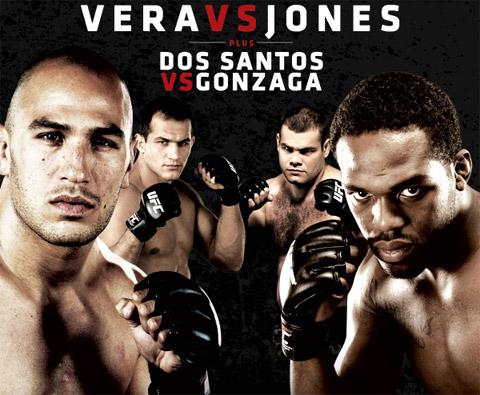 UFC Fight Night 21 Poster