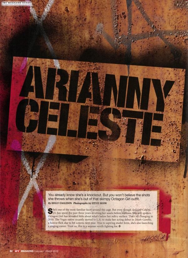 Arianny UFC Mag Feb 2010 pic 1