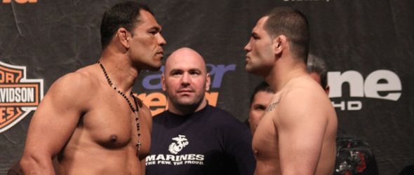 Nogueira vs Velasqauez UFC 110 weigh in