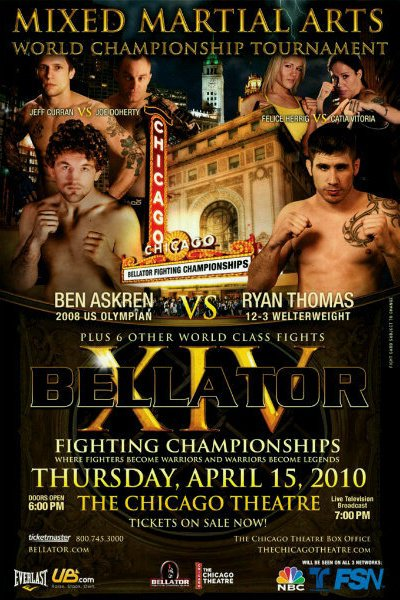 Bellator 14 poster