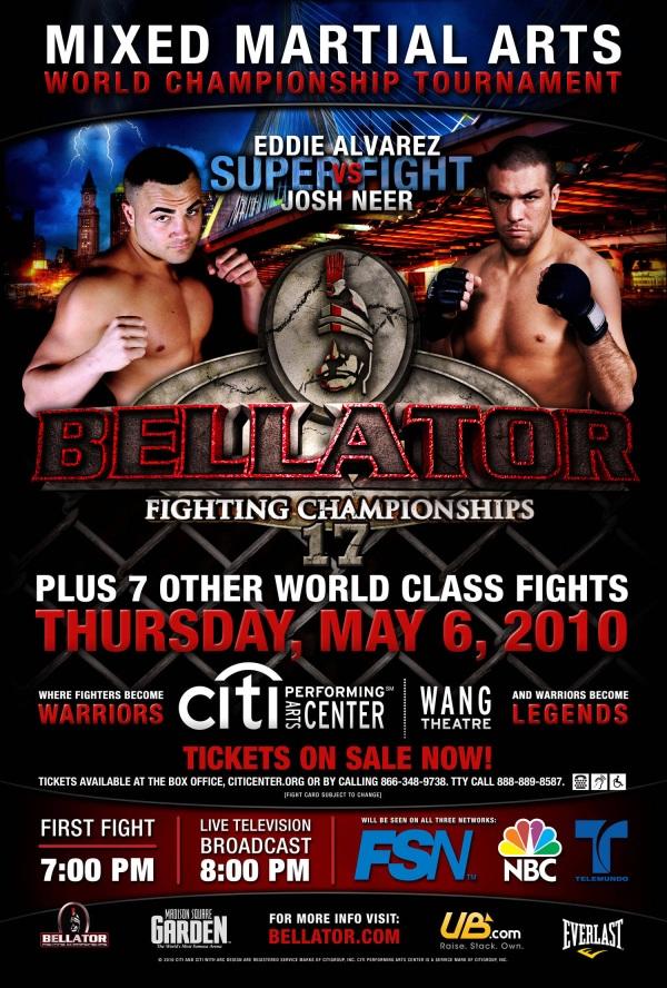 Bellator 17 Poster