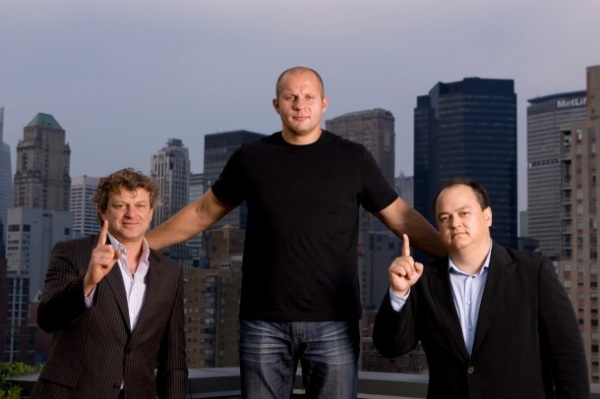 Fedor with Coker and Finkelstein