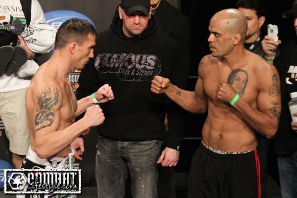 Quarry vs Rivera weigh in