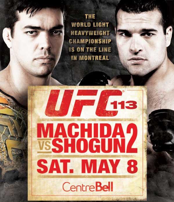 UFC 113 Poster
