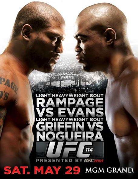 UFC 114 poster