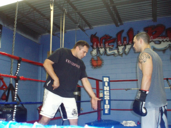 Edgar training with Henry 2