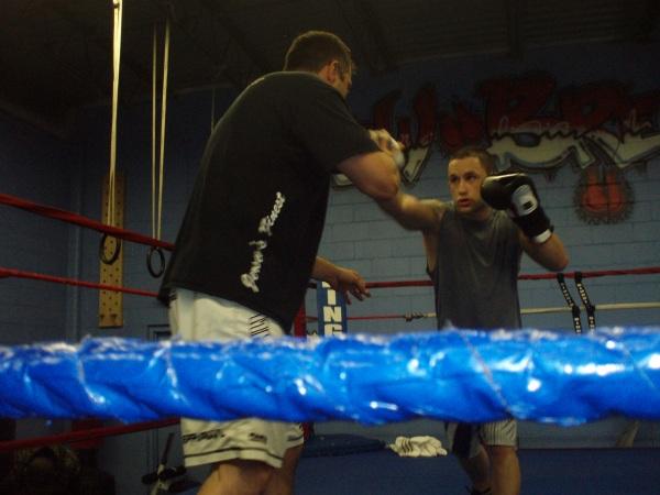 Edgar training with Henry