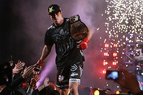 Jake Shields Strikeforce Champ
