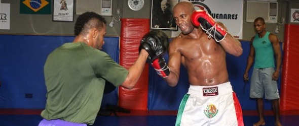 Silva UFC 112 training- gallery