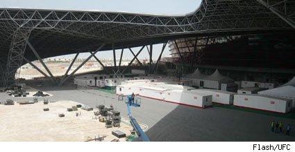 UFC 112 Abu Dhabi Stadium 1