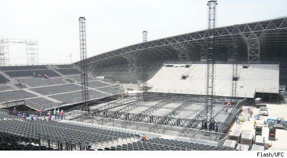 UFC 112 Abu Dhabi Stadium 2