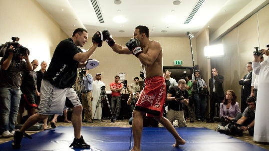UFC 112 Open Workout 12