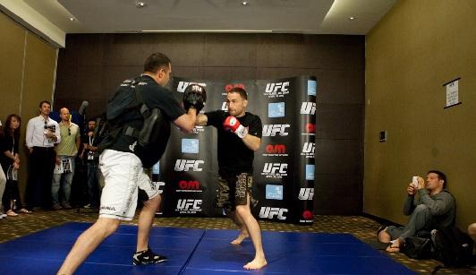 UFC 112 Open Workout 14