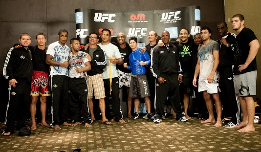 UFC 112 Open Workout 4