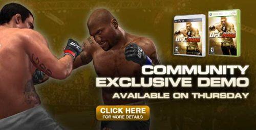 UFC Undisputed 2010 Demo
