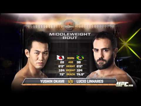 Yushin Okami vs Lucio Linhares