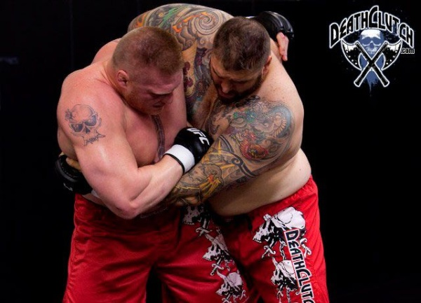 Lesnar UFC 116 Training for Carwin 2
