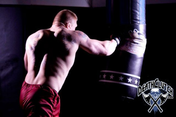 Lesnar UFC 116 Training for Carwin 3