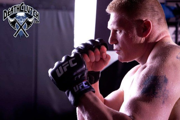 Lesnar UFC 116 Training for Carwin 6