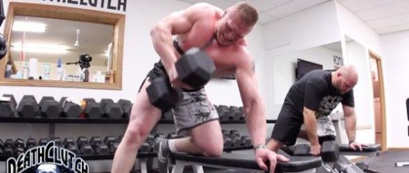 Lesnar training- gallery