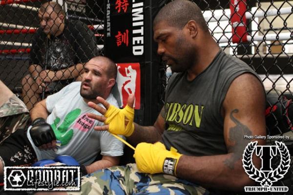 Rampage Jackson UFC 114 training 2