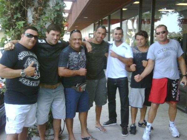 Rogerio Nogueira UFC 114 Training 3