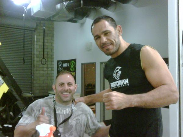 Rogerio Nogueira UFC 114 Training 5