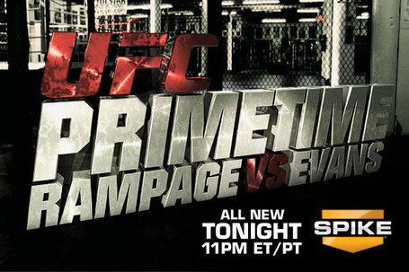 UFC Primetime Rampage vs Evans