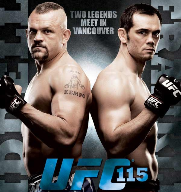 UFC 115 Betting Odds