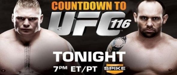 UFC 116 Countdown- gallery