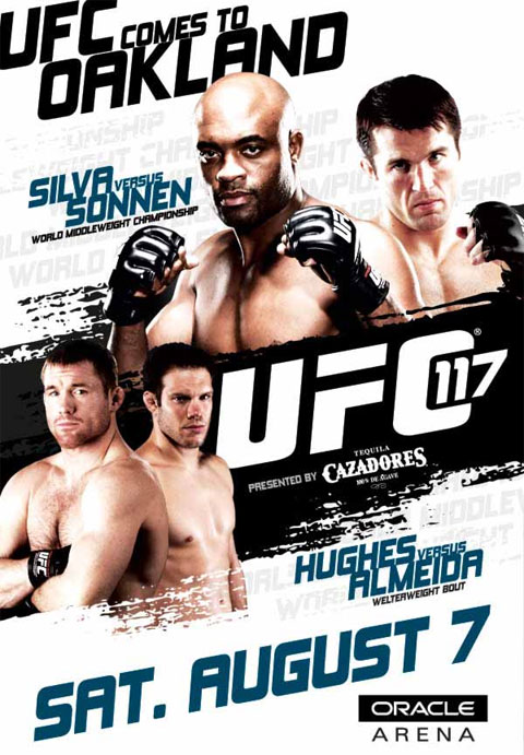 UFC 117 Poster Pic