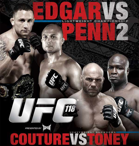 UFC 118 Poster Pic